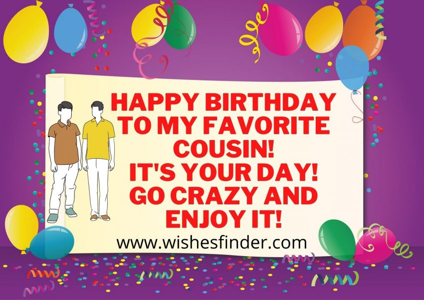 Best Happy Birthday Wishes For Cousin