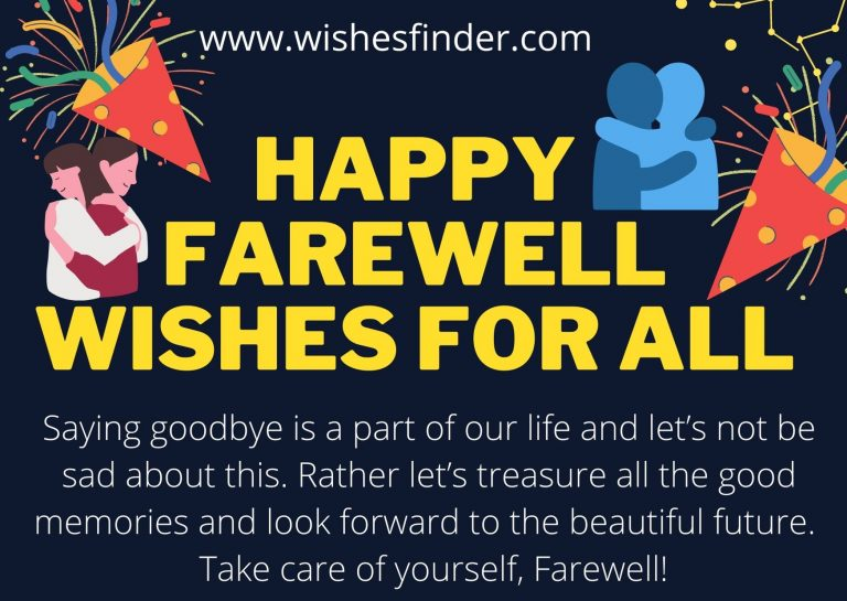 Happy Farewell Wishes For All