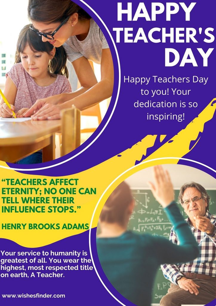 Happy National Teachers' Day