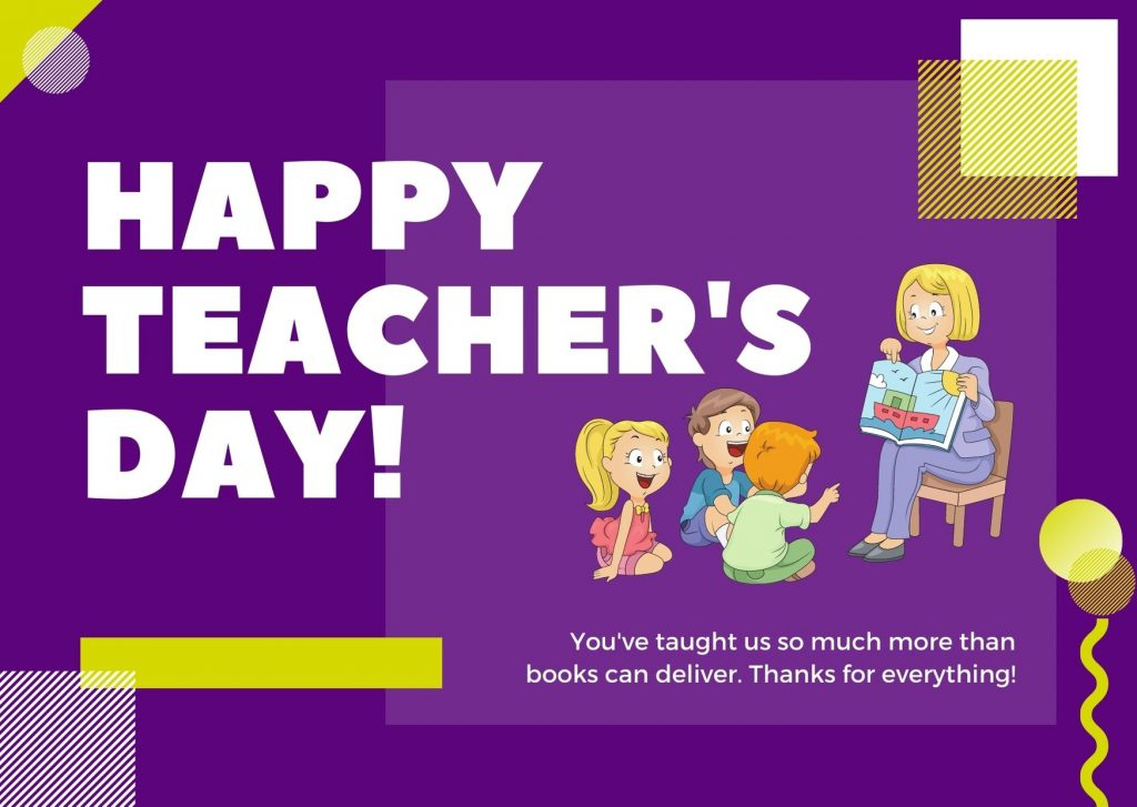 Happy National Teachers' Day Images