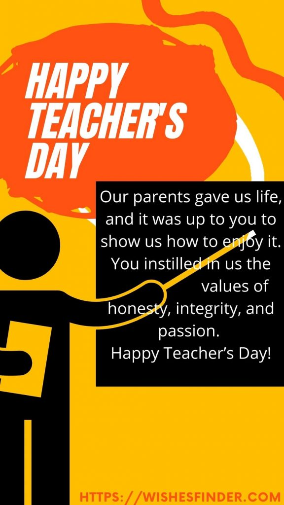 Happy National Teacher's Day Images