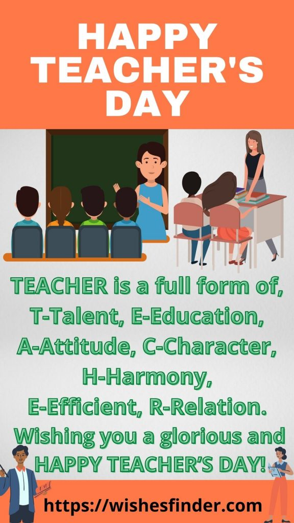 Happy National Teacher's Day Wishes Images
